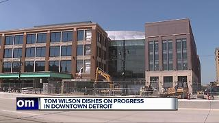 Little Caesars Arena on schedule to be completed by Sept. 1 - Video
