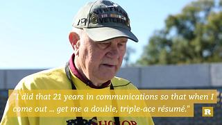 Rare Goes Yellow: Vietnam veteran reflects at the National World War II Memorial | Rare Military - Video
