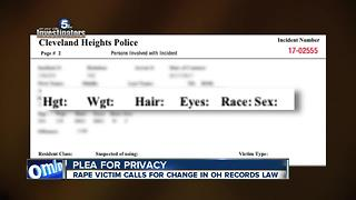 A plea for privacy: Rape victim shocked Cleveland Heights released her personal information online - Video
