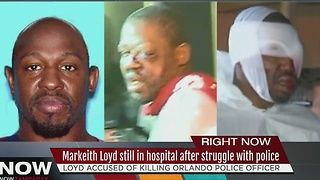 Markeith Loyd still in hospital after struggle with police - Video