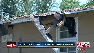 Salvation Army's Gene Eppley Camp recovering from storms - Video
