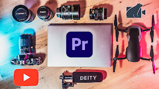 Edit a Video FAST in premiere pro 2020! Start to finish workflow