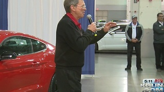 Tucson auto dealer raffles off car, raises more than $800,000 for charity - Video