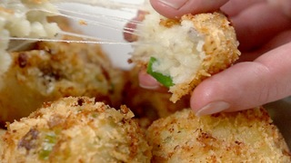 Fully-Loaded Mashed Potato Balls - Video