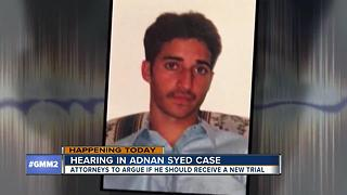 Adnan Syed case in court Thursday - Video