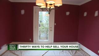 Thrifty ways to help sell your home