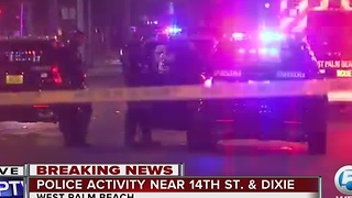 Police on scene of hostage situation in  West Palm  Beach - Video