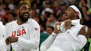 Kyrie Irving & Carmelo Anthony are FINALLY Teammates! - Video