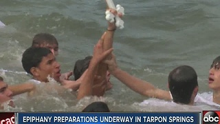 Epiphany 2017 preparations underway in Tarpon Springs - Video
