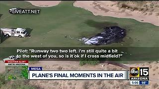 Mesa plane crash claims the life of 2 people - Video