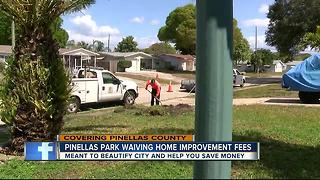 Saving you cash: Pinellas Park waives permit fees - Video