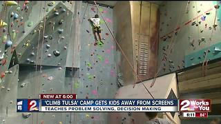 'Clim Tulsa' camp gets kids moving and thinking - Video