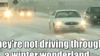 A whole lot of hail in Colorado - Video