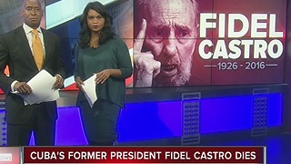 Former Cuban leader Fidel Castro dies at 90