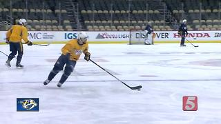Preds Prepare For Game 5 In Pittsburgh, Series Tied - Video