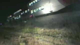 Trooper pulls driver from vehicle seconds before train hits