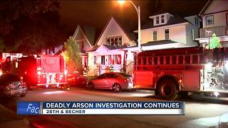 Deadly fire on south side investigated as homicide - Video