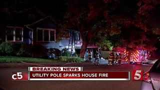 East Nashville Home Seriously Damaged By Fire - Video