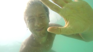 Testing GoPro Hero4 Silver underwater for the first time, Koh Phangan, Thailand