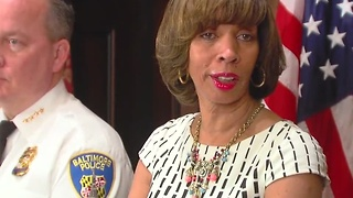 Mayor Pugh, Commissioner Davis discuss policing issues - Video