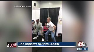 Mayor Joe Hogsett dances again