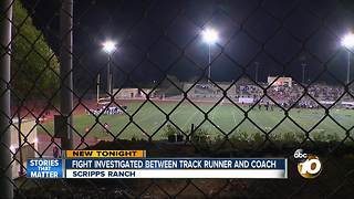 Fight investigated between Scripps Ranch track runner and coach - Video