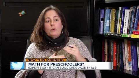 Learning math skills early aids preschool children