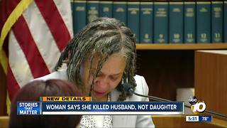 San Carlos woman says she killed husband, not daughter - Video