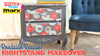 Roadside rescue nightstand makeover DIY