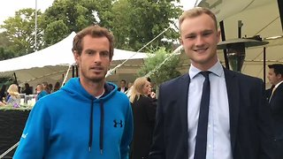 Andy Murray Meets... Andy Murray, as Impressionist Nails Voice of the Tennis Star - Video