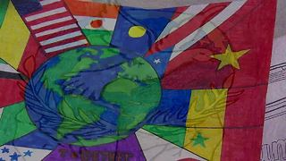 Jenks world flag - Video