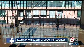 Pacers unveil new training facility - Video