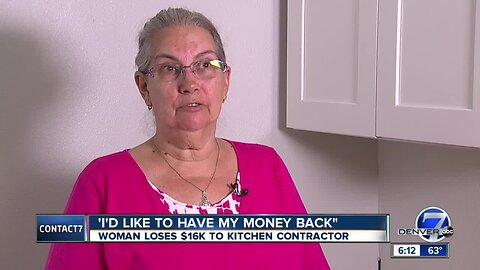 Woman says contractor took $16K deposit, then went out of business
