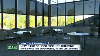 Park School opens brand new science building