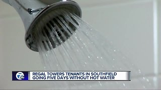 Southfield apartments going on 5 days without hot water
