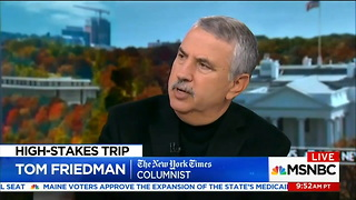 Andrea Mitchell Reports Thomas Friedman - Video