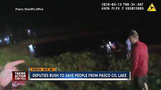 Deputies rush to save people from Pasco Co. lake