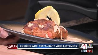 Cooking with leftovers from Restaurant Week - Video