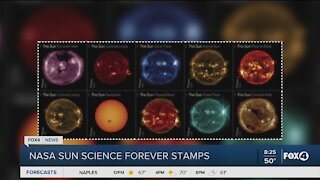 Post office offers new sun stamps