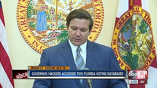 Russian hackers accessed voting databases in 2 Florida counties