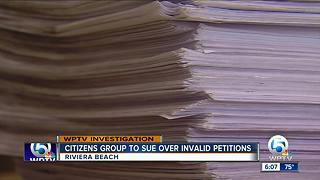 Citizens group to fight invalid petitions - Video