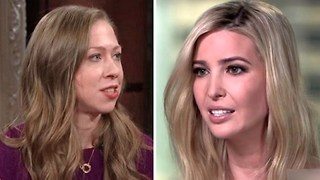 Chelsea Clinton disses former friend Ivanka Trump on Stephen Colbert show. - Video