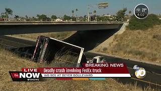 Deadly crash involving FedEx truck on SR-905 - Video
