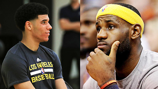 Lonzo Ball BEGS LeBron James to Join the Lakers - Video