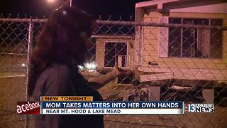 Las Vegas mom uses Facebook to fight crime - Video
