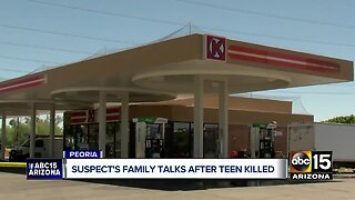Stabbing suspect's family speaks out after teen victim killed