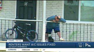 Renters want AC fixed