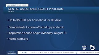 Rental assistance program opens for La Mesa residents