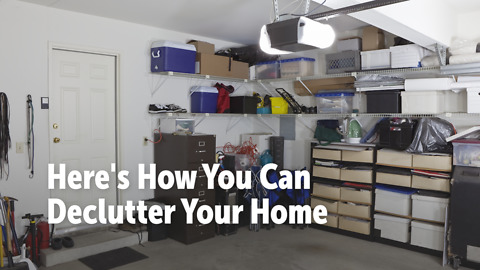 Here's How You Can Declutter Your Home
