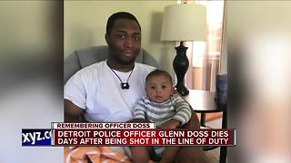 Detroit police officer Glenn Doss dies days after being shot - Video